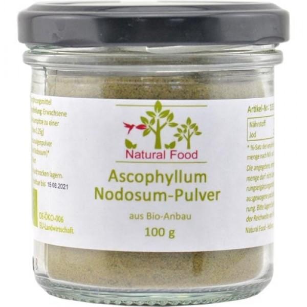 Ascophyllum Nodosum Pulver, Bio, Rohkostqualität, Braunalge B-Ware