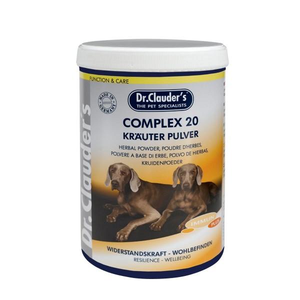 Dr. Clauders Best Choice Complex 20 - Kräuter Pulver