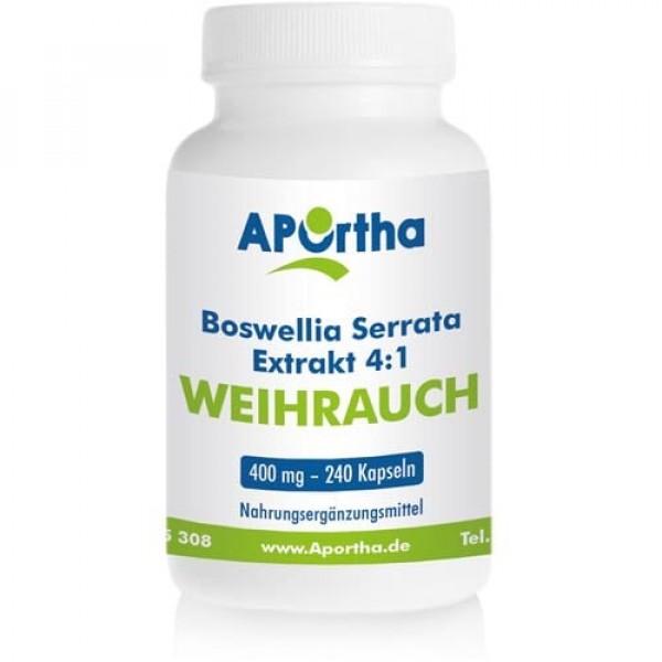 Weihrauch, Boswellia Serrata, 400mg, 240 Tabletten B-Ware