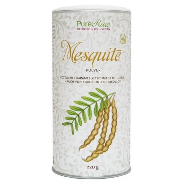 Mesquite Pulver, Bio, Rohkost, Vegan, Pure Raw, 220g B-Ware