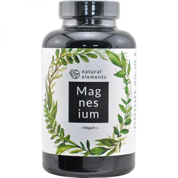 Magnesium Kapseln, hochdosiert, Tri-Magnesiumdicitrat, 180 vegane Kapseln