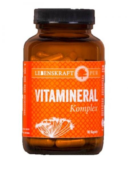 Vitamineral Komplex, hoch bioverfügbar, 90 vegane Kapseln