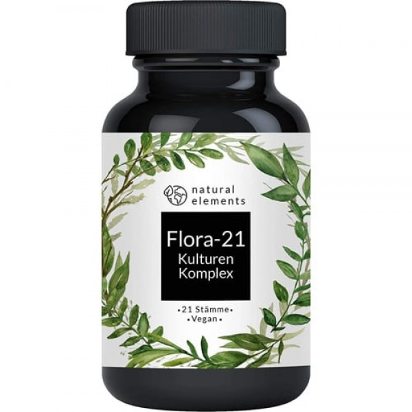 Probiotika Kulturen Komplex Flora-21, 180 vegane Kapseln