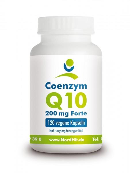 Coenzym Q10, 200mg, 120 vegane Kapseln
