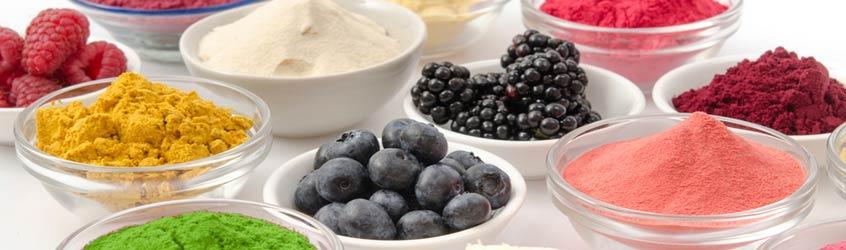 Pflanzen- & Fruchtpulver