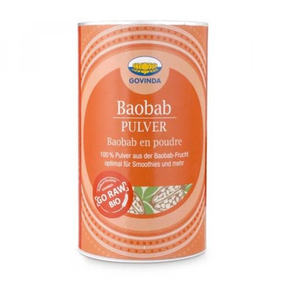 Bio Baobab Pulver, Rohkostqualität