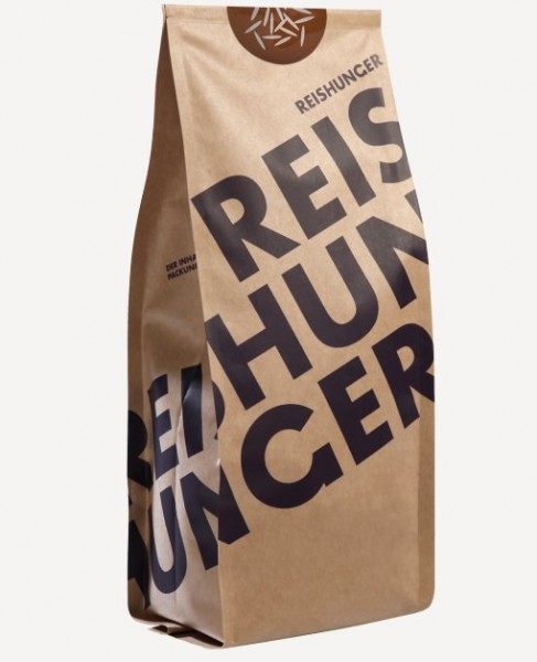 Lila Reis, Bio, Vollkorn, 100% sortenreine Premiumqualität von Reishunger, 600g