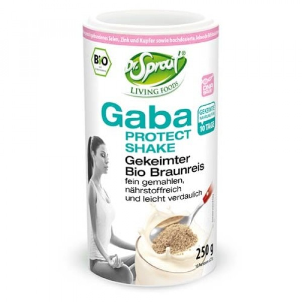 Dr. Sprout Gaba Protect Shake aus gekeimtem braunem Reis