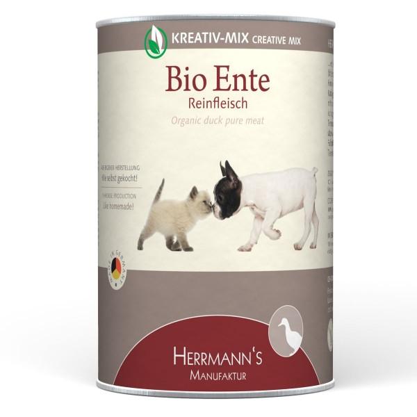Herrmanns Selection Kreativ Mix Reinfleisch Bio Ente