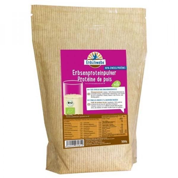 Erbsen Proteinpulver, Bio, vegan, 500g B-Ware