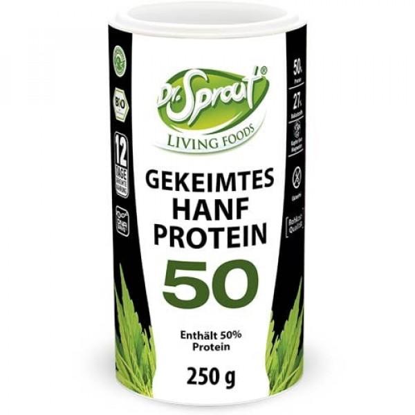 Dr. Sprout gekeimter Bio Hanf, 250 g